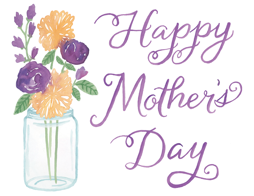 Mother's Day Mason Jar Bouquet