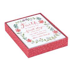 Floral Faith Notecards for Galison