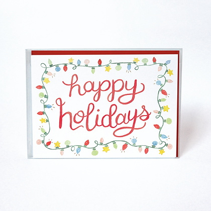 Holiday Lights Boxed Holiday Cards