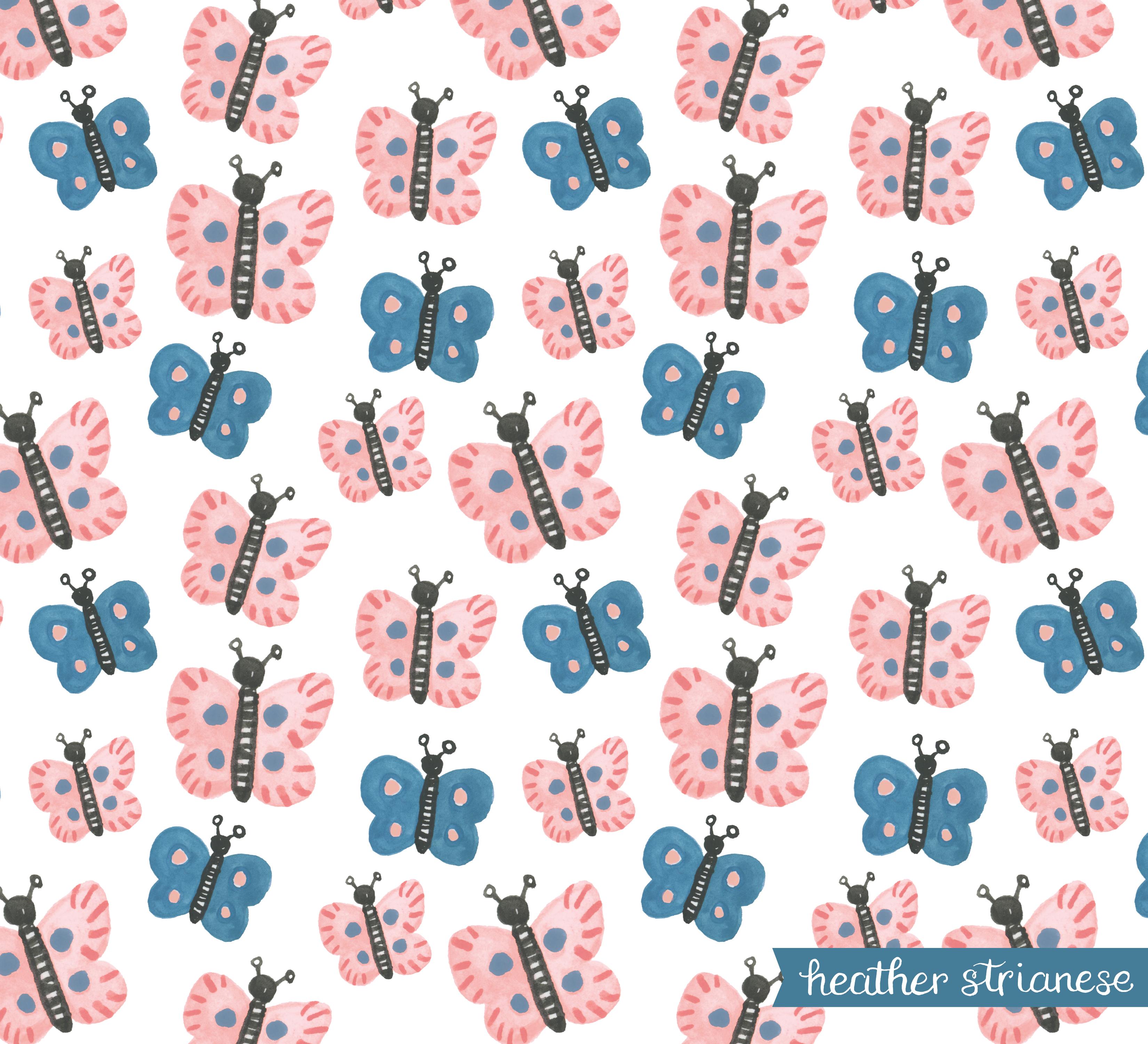 Butterfly Garden Pattern