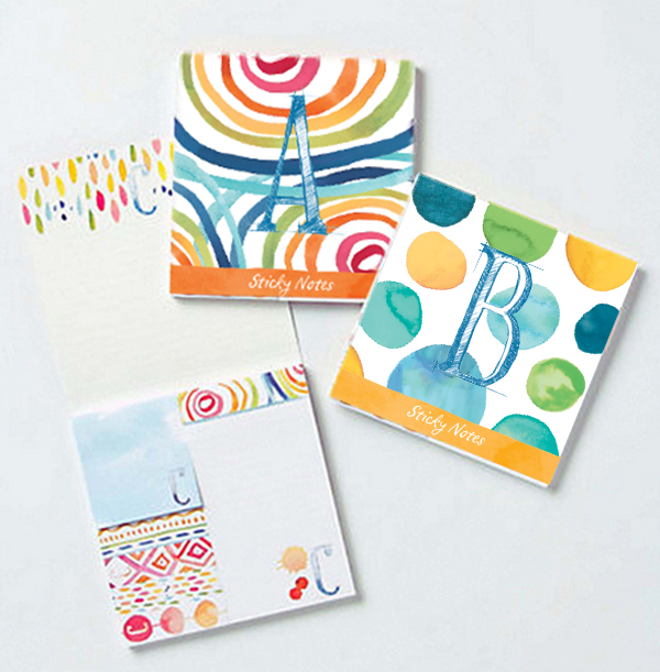 Anthropologie Sticky Notes