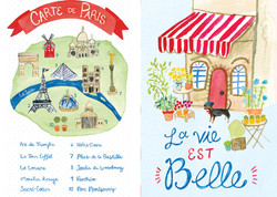 Paris Journal Interior Pages