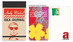 Andy Warhol Idea Journal