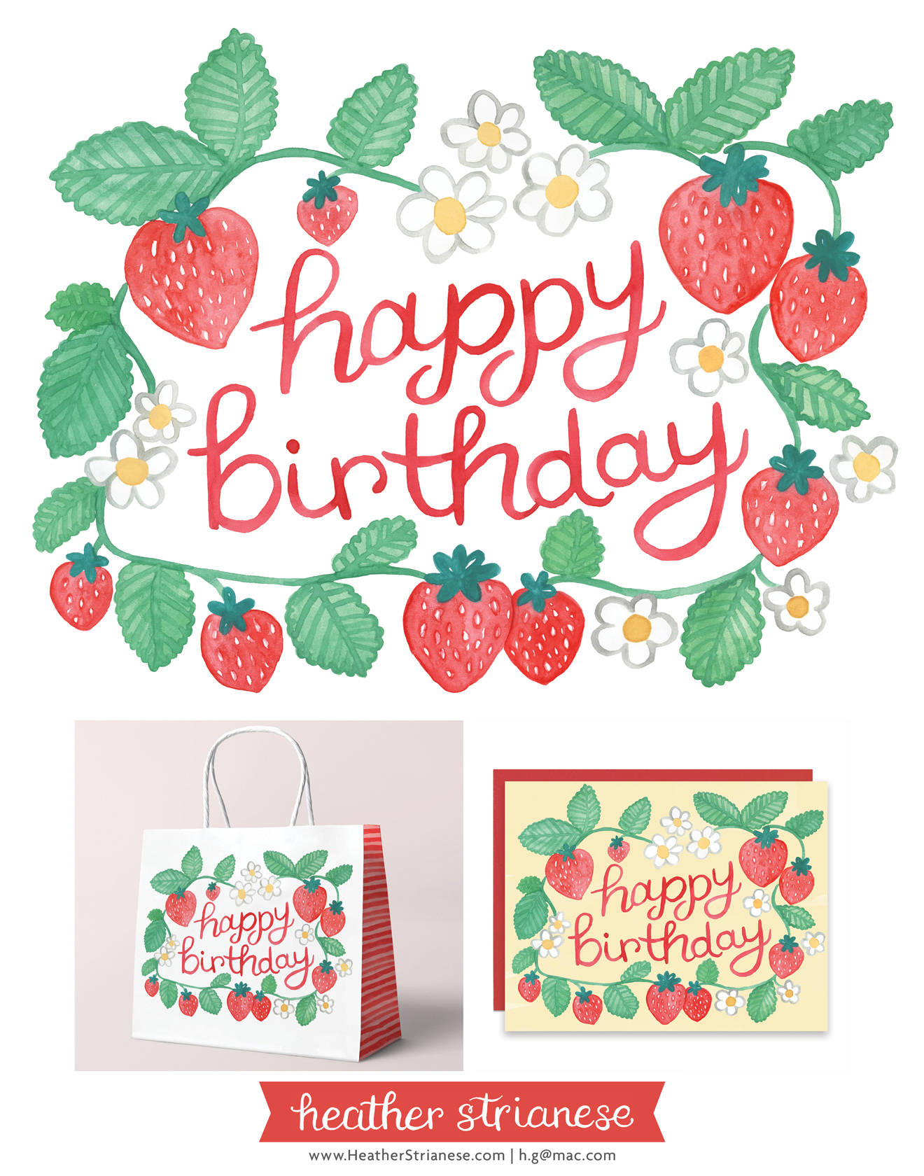 Birthday Strawberries