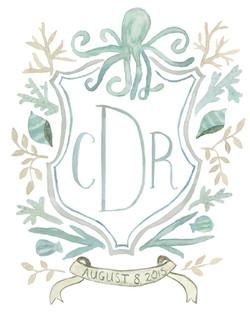Nautical Wedding Crest