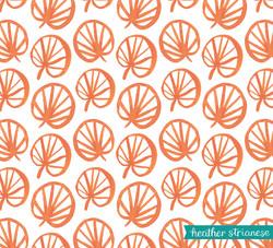 Jungle Fan Leaf Pattern