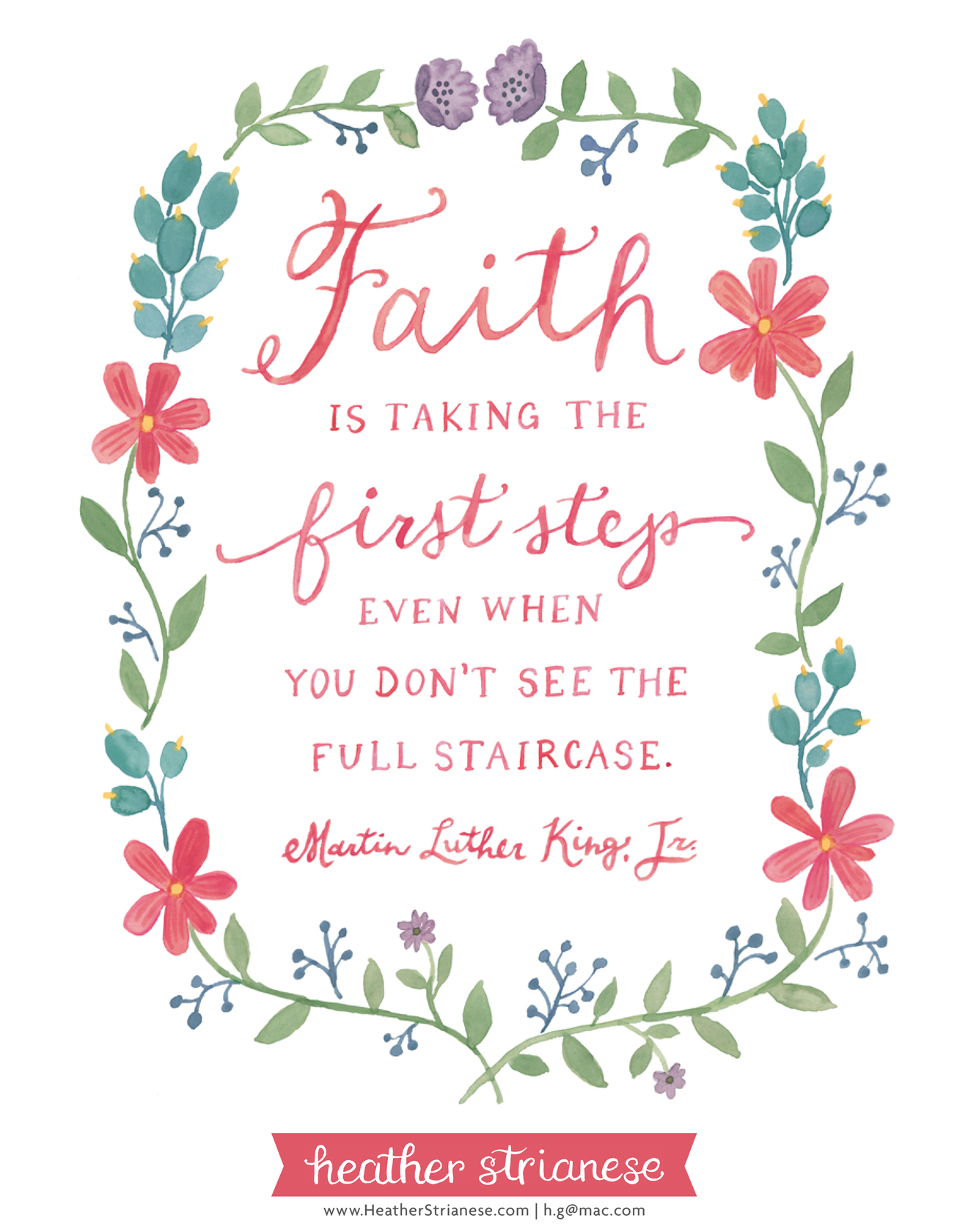 MLK Jr Faith Quote