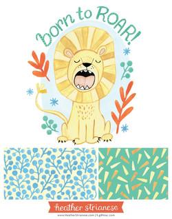 Born to Roar Lion