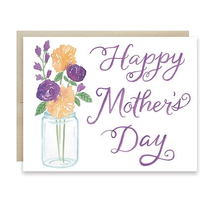 Mother's Day Mason Jar Card