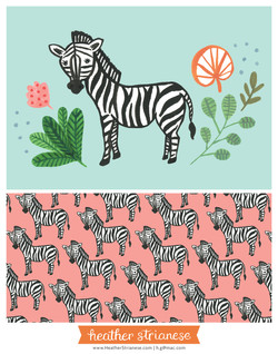 Wild Jungle Zebra