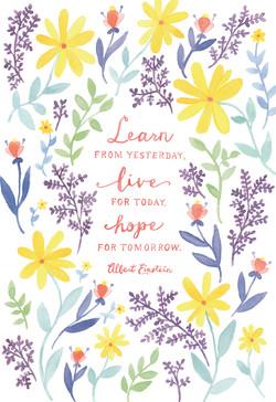 Floral Journal Illustrations