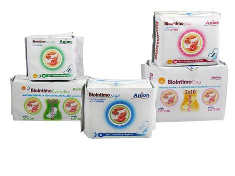 Biointimo Anion intim és tisztasági betétek