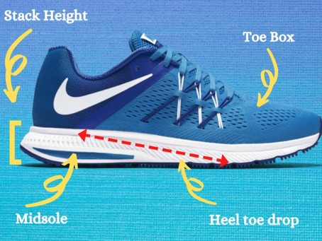 The Important Anatomy of a Running Shoe