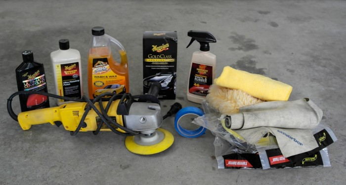 Buff and Wax ( All Vehicles) $60