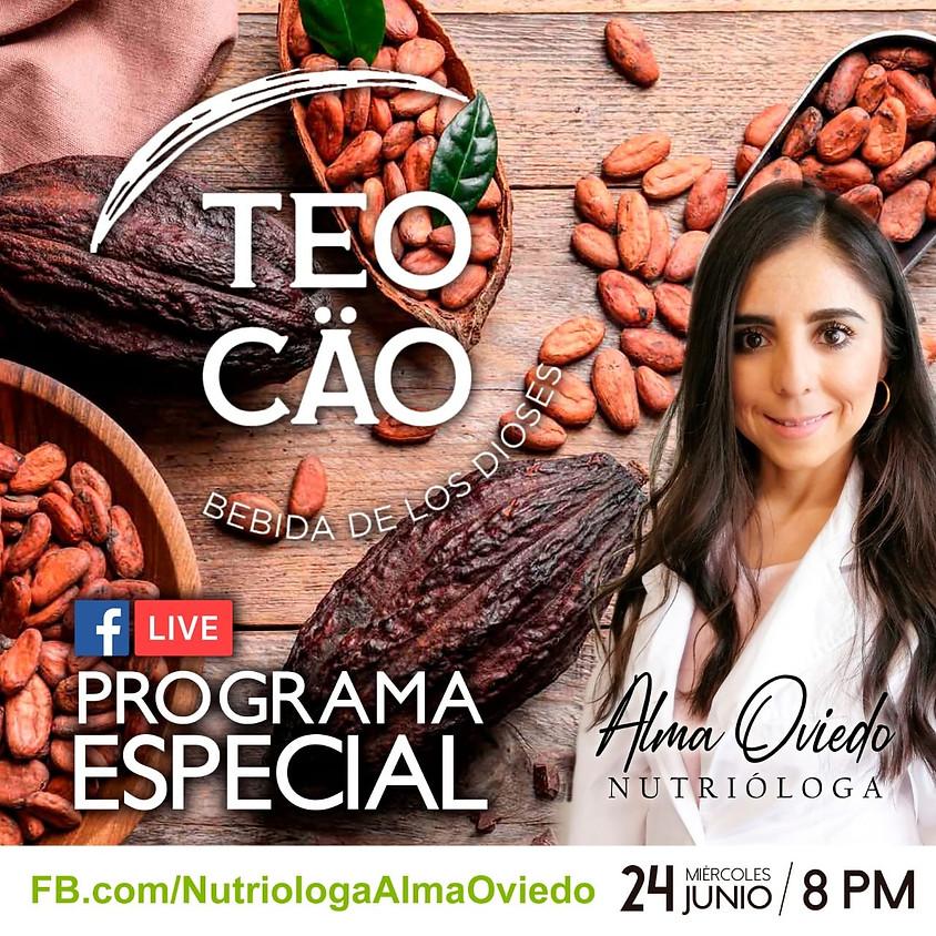 Taller virtual con la Nutrióloga Alma Oviedo