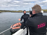 Ricky and Ben in wetsuit - Scotland.JPG