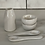 Thumbnail: White Pottery Spoon - small