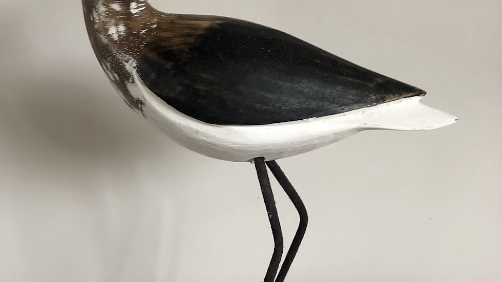 Curlew Carved Bird