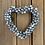 Thumbnail: Silver Effect Metal Bells Hanging Heart