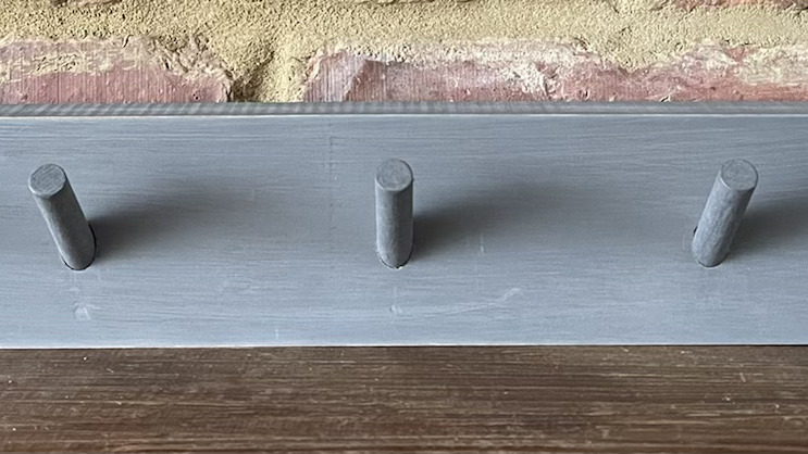 5-peg Rail Shelf