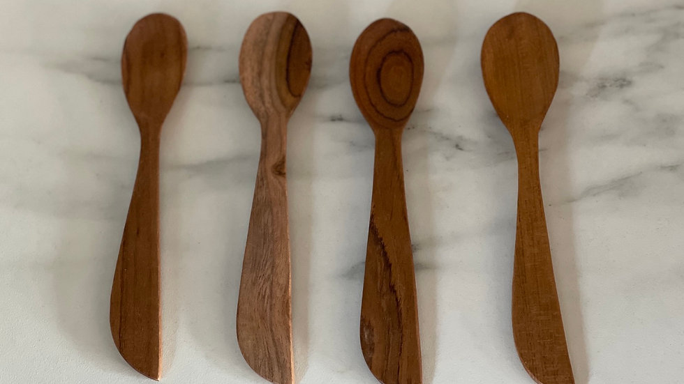 Hand Carved Wooden Spoon - small