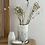Thumbnail: 'Wild Flowers' White Ceramic Vase