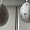 Thumbnail: White Porcelain Hanging Egg Decoration