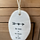 Thumbnail: White Porcelain Hanging Quote Plaques