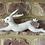 Thumbnail: Felt Hanging Hare - Handmade