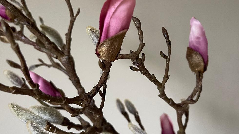Everlasting Magnolia Branch 100cm