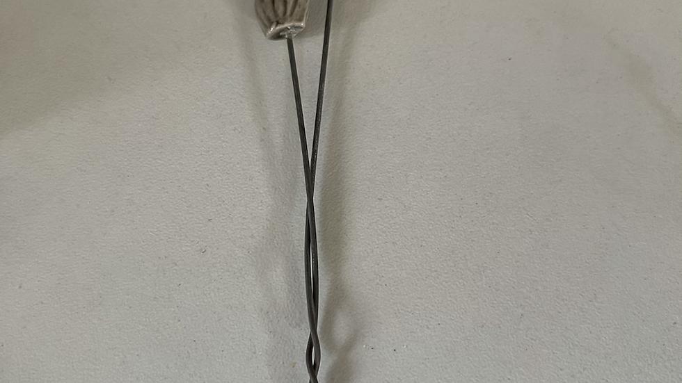 Porcelain Seed Pod for Small Vase