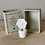 Thumbnail: White Ceramic Flower on a Block - Mother