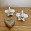 Thumbnail: Grey Ceramic 'Wonderful Mum' Heart Token