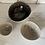 Thumbnail: Set of 3 ceramic bowls