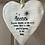 Thumbnail: White Ceramic Hanging Heart - Heaven