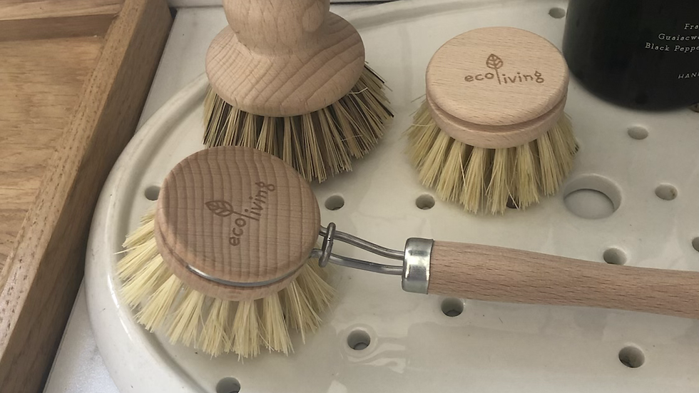 EcoLiving Wooden Dish Brush