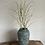 Thumbnail: Tall Verdigris Textured Stoneware Vase