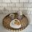 Thumbnail: Small White Porcelain Platter Plate - Home