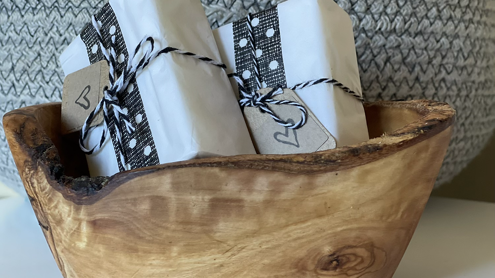 Olive Wood Soap Dish - Large
