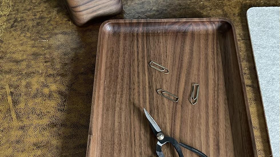 Wooden Catch-all Tray - Walnut