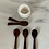 Thumbnail: Hand Carved Wooden Spoon - tiny