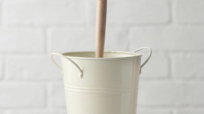 EcoLiving Plastic Free Toilet Brush & Holder set