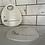 Thumbnail: Small White Porcelain Platter Plate - Friends
