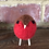 Thumbnail: Standing Red Robin Felted Ornament