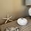 Thumbnail: White Resin Sea Urchin Vase