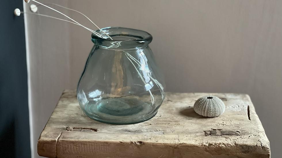 Small Glass Vase / Tealight Holder
