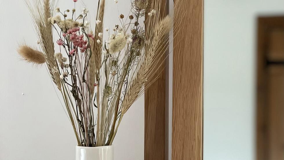 Small White Porcelain Vase - Handpicked