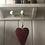 Thumbnail: Nordic Red Hanging Heart 13cm