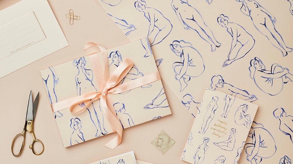 Wanderlust Paper Co. Gift Paper Sheet
