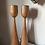 Thumbnail: Tall Natural Wood Tea Light Holders (pair)